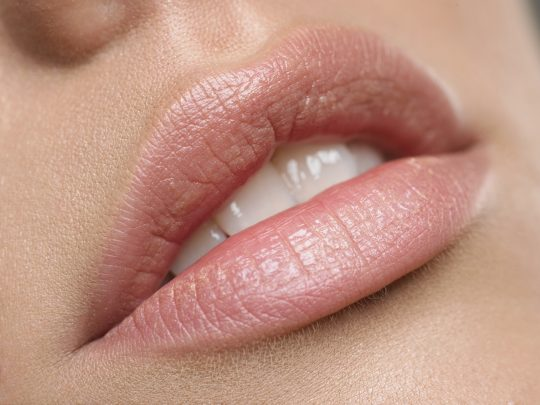Beautiful natural lips